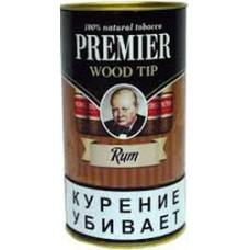 Сигариллы Premier Wood tip Rum (Ром) с мундштуком 1 шт