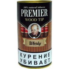 Сигариллы Premier Wood tip Whisky (Виски) с мундштуком 1 шт