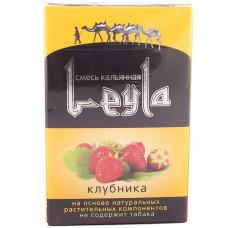 Смесь Leyla 50 г Клубника (strawberry) (кальянная без табака)