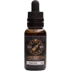Жидкость Good Vape GreatFog 30 мл Hard Nut 6 мг/мл