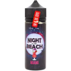 Жидкость Night On The Beach 120 мл Miami 3 мг