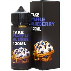 Жидкость Take Черная 120 мл Waffle Blueberry 3 мг/мл
