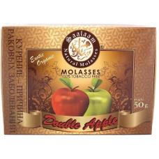 Смесь Saalaam 50 г Двойное яблоко (Double apple) (кальянная без табака)