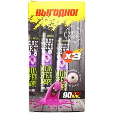 Жидкость Monster Drops 3*30 мл Berry Brzr 3 мг/мл