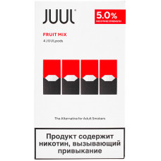 Картридж JUUL Fruit Mix 4-Pack 0.7 мл 50 мг