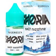 Жидкость Maxwells SALT 30 мл SHORIA 12 мг/мл Шория