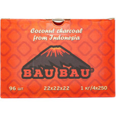 Уголь Bau Bau NEW 96 куб 1 кг 22*22*22 (Индонезия) оранжевый