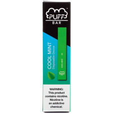 Вейп Puff Bar Cool Mint 5% Одноразовый