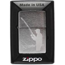 Зажигалка Zippo 200 Fisherman Бензиновая