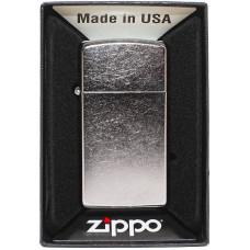 Зажигалка Zippo 1607 Slim Street Chrome Бензиновая