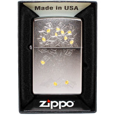 Зажигалка Zippo 29999 Money Tree Design Бензиновая