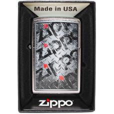 Зажигалка Zippo 29838 Diamond Plate Design Бензиновая