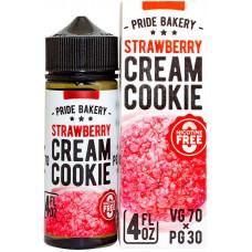 Жидкость Cream Cookie 120 мл Strawberry 0 мг/мл