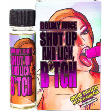 Жидкость Boldly Juice Shut Up and Lick B*tch 60 мл Фруктовый лед 0 мг/мл