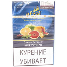 Табак Afzal 40 г Синий Экстрим (Афзал)