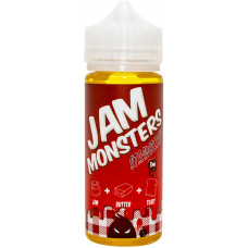 Жидкость Jam Monsters 120 мл Strawberry 3 мг/мл