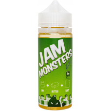 Жидкость Jam Monsters 120 мл Apple 3 мг/мл