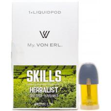 Картриджи Von Erl Skills Herbalist 12 мг/мл (Скиллс Хербалист) 1шт