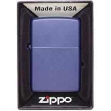 Зажигалка Zippo 239 REG Navy Blue Matte Бензиновая