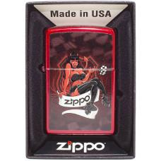 Зажигалка Zippo 21063 Devil Girl Бензиновая