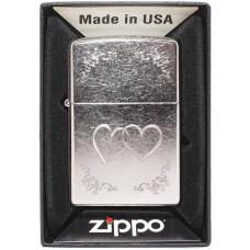 Зажигалка Zippo 24016 Heart To Heart Бензиновая