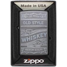 Зажигалка Zippo 29691 PF18 Vintage Design Бензиновая