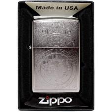 Зажигалка Zippo 29699 Satin Chrome Бензиновая