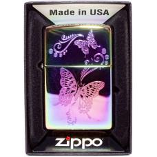 Зажигалка Zippo 28442 Butterflyes Бензиновая