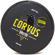 Жевательный Corvus 13гр Ментол 68мг Brutal