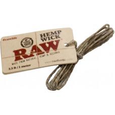 Фитиль RAW Hempwick 3.3 ft/1 метр Коноплянная Нить