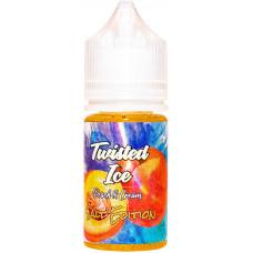 Жидкость Twisted Ice Salt 30 мл Peach Cream 35 мг/мл