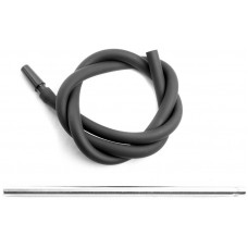 Шланг MYA SILICONE Металл трубка Черный L=190 см H636S