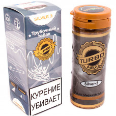 Табак трубочный TURBO DOKHA Silver Крепость N3 12 гр (банка) ОАЭ