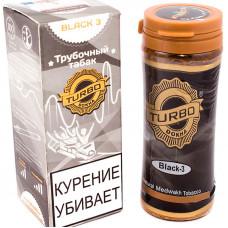 Табак трубочный TURBO DOKHA Black Крепость N2 12 гр (банка) ОАЭ