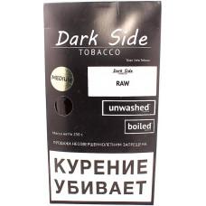 Табак Dark Side 250 г Не ароматизированный Средняя крепость (RAW MEDIUM)