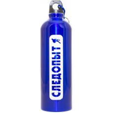 Бутылка Питьевая Следопыт Алюминиевая с Карабином 750 мл в Ассортименте PF-BD-A750