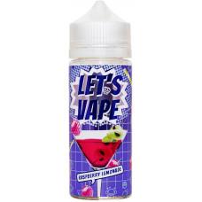Жидкость Lets Vape 120 мл Raspberry Lemonade 0 мг/мл