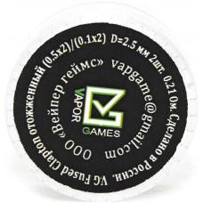 Спираль Vapor Games 2 шт Fused Clapton Coil 0.21 Ом (0.5*2)*(0.1*2)