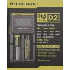 Зарядное устройство Nitecore D2 EU ysmax 2x (универсальное для всех аккумуляторов)