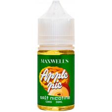 Жидкость Maxwells SALT 30 мл APPLE PIE 12 мг/мл Яблочная шарлотка