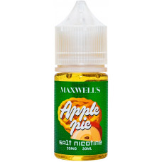 Жидкость Maxwells SALT 30 мл APPLE PIE 20 мг/мл Яблочная шарлотка