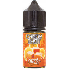 Жидкость Candy Shot Salt 30 мл Caramel Toffee with Orange 44мг/мл