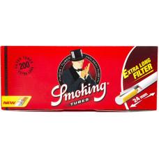 Гильзы сигаретные Smoking с фильтром длинные 200 шт