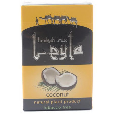 Смесь Leyla 50 г Кокос (coconut) (кальянная без табака)