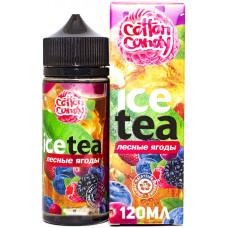 Жидкость Cotton Candy 120 мл Ice Tea Лесные Ягоды 0 мг/мл