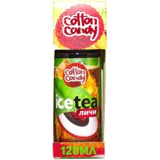 Жидкость Cotton Candy 120 мл Ice Tea Личи 0 мг/мл