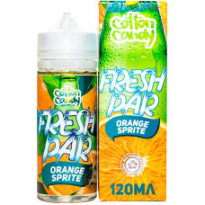 Жидкость Cotton Candy 120 мл Fresh Par Orange Sprite 0 мг/мл