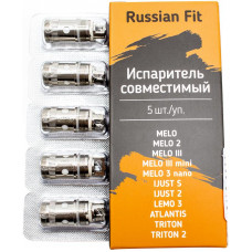 Испаритель Russian Fit EC 0.5 Ом 30-100W (Melo, Melo2-3-mini, iJust2-S, Lemo3, Atlantis, Triton)