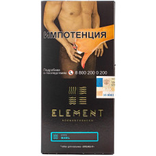 Табак Element 100 г Вода Basil