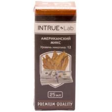Жидкость INTRUE Lab 25 мл Американский микс 12 мг/мл VG/PG 50/50